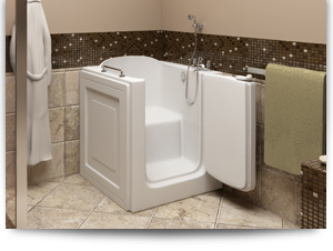 Revere walk in bath tub